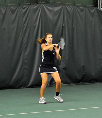 Women's Tennis Opens AMCC Tournament With 5-0 Win Over Pitt-Greensburg