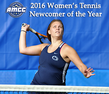 Lewis Voted Newcomer of the Year; Colucci, Ruggles Picked Second Team All-AMCC