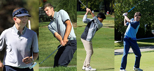 Four Voted to Men's Golf All-Conference Squad