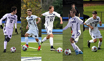 Five Lions Voted to All-AMCC Men's Soccer Team