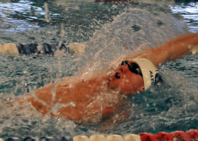 Men's Swimming Splits With Bethany, Frostburg in Home Finale