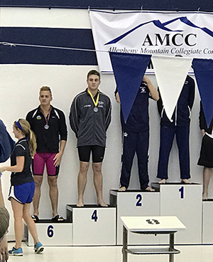 Men's Swimming in Fifth After Thursday's AMCC Action