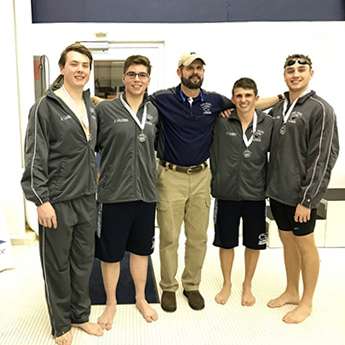 Lions Come in Fourth After Last Day of AMCC Championships