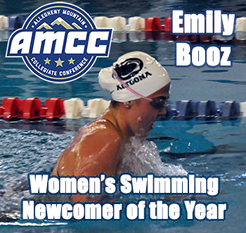 Booz Highlights AMCC All-Conference Team as Newcomer of the Year