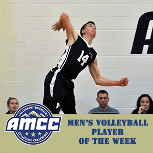 Colditz Named AMCC Player of the Week