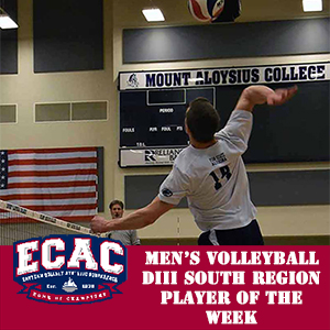 Colditz Selected ECAC South Player of the Week