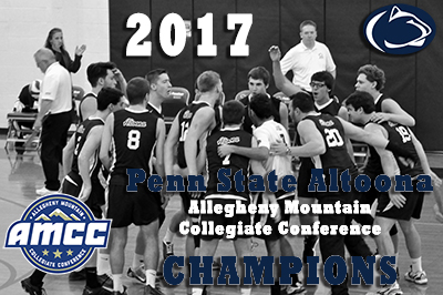 Men's Volleyball Clinches 2017 AMCC Championship
