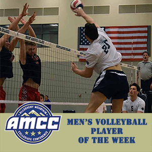 Byers Selected AMCC Men's Volleyball Player of the Week