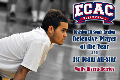 Rivera-Berrios Voted Defensive Player of the Year, First Team All-Star by ECAC