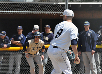 Baseball Eliminated from AMCC Tournament With 10-0 Loss to Pitt-Bradford