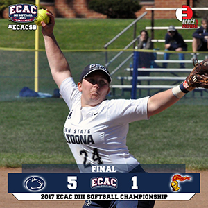 Softball Upsets Alvernia to Advance in ECAC Tournament