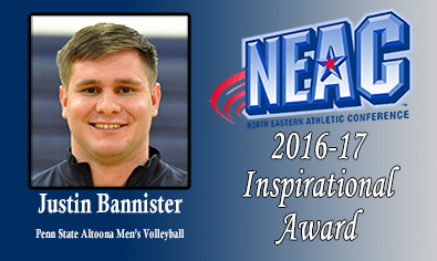 Bannister Honored With NEAC Inspirational Award