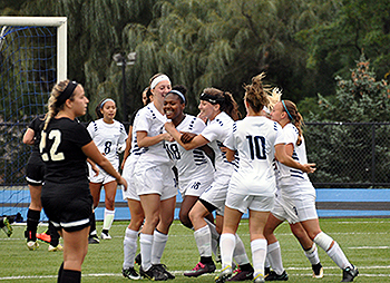 Mahoney's Goal Lifts Lady Lions to Double OT Win
