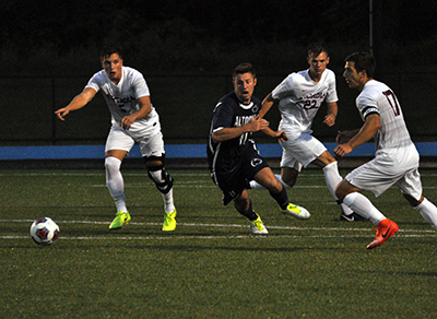 Men's Soccer Suffers 5-1 Loss to Arcadia in Season Opener