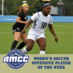 Mahoney Named AMCC Offensive Player of the Week