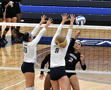 Women's Volleyball Falls 3-0 to Frostburg
