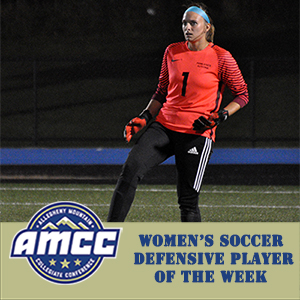 Emershaw Tabbed AMCC's Defensive Player of the Week