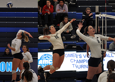 Three Lady Lions Voted to All-AMCC Squad