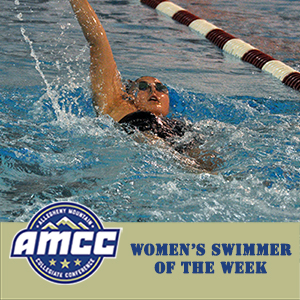 Booz Chosen AMCC Women's Swimmer of the Week