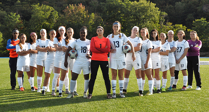 Women's Soccer Team Photo