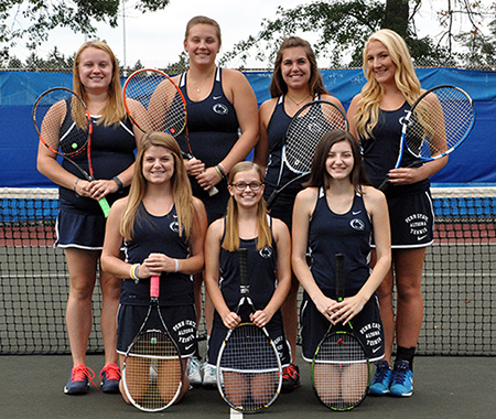 Women's Tennis Team Photo