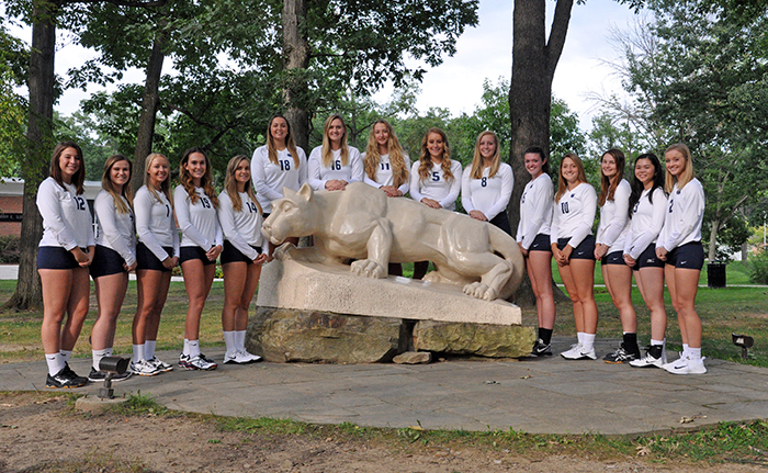 Women's Volleyball Team Photo